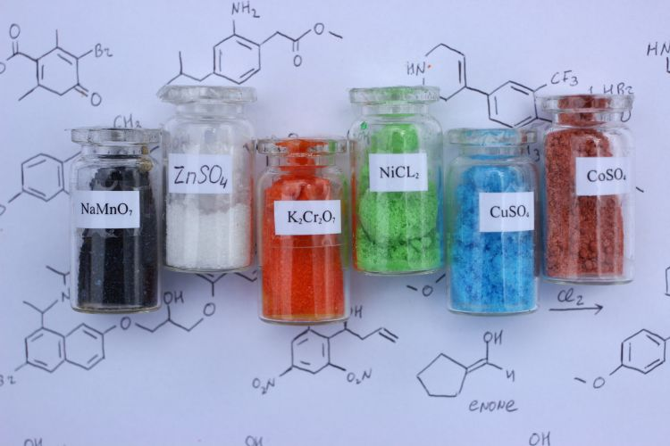 Crystals of chemical compound. Crystallisation is a pivotal step in Medicine API manufacturing